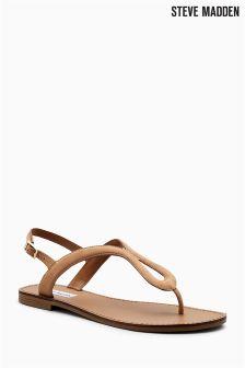 Steve Madden Sand Takeaway Toe Post Strap Sandal