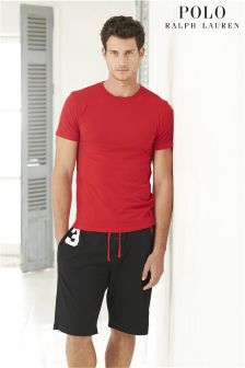 Ralph Lauren Black 3 Logo Short