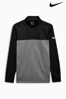 Nike Black Therma Golf Top