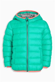 Turquoise Padded Jacket (3mths-6yrs)