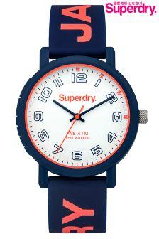 Blue Superdry Campus Watch