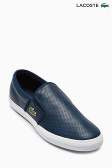 Navy Lacoste® Gazon Slip-On