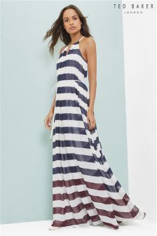 Ted Baker White Aloes Maxi Dress