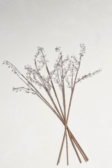 Set Of 5 Diamante Embellished Twigs