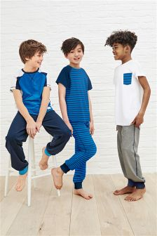 Stripe Pyjamas Three Pack (3-16yrs)