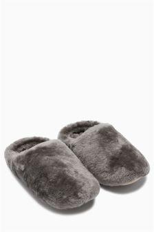 Sheepskin Mules