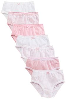 Frill Trim Briefs Seven Pack (1.5-16yrs)