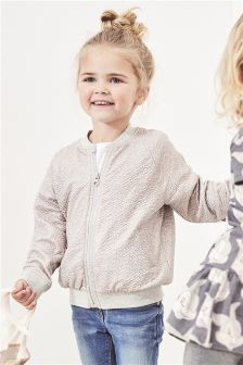 Sparkle Bomber Jacket (3mths-5yrs)
