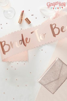 Ginger Ray Bride To Be Sash
