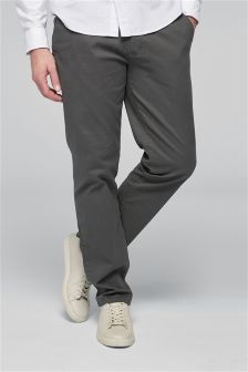 Buy Men's Trousers Grey Chino from the Next UK online shop