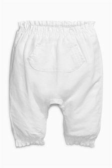 White Trousers (0mths-2yrs)