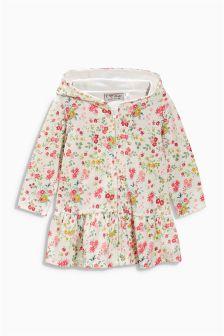 Zip Through Towelling Dress (3mths-6yrs)