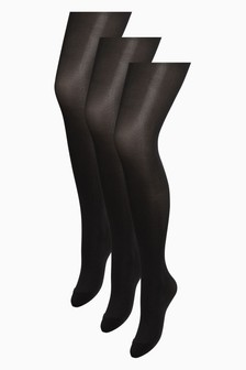40 Denier Tights Three Pack