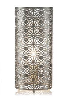 Zhara Brushed Nickel Table Lamp