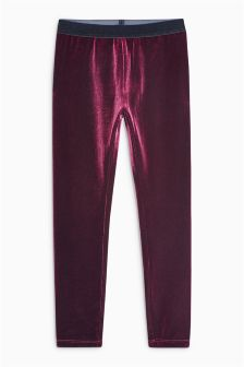 Velvet Leggings (3-16yrs)