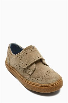 Suede Brogues (Younger Boys)