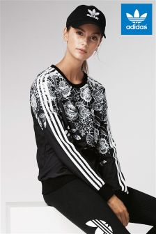 adidas Originals Black Florido Sweat Top