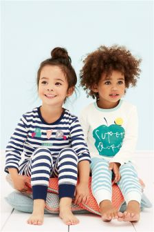 Snuggle Fit Super Duper Pyjamas Two Pack (12mths-8yrs)