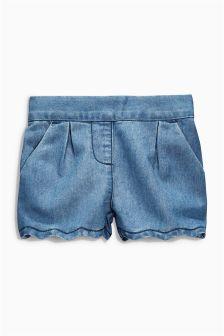 Scallop Shorts (3mths-6yrs)