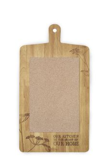 Large Solid Wood Memo Board