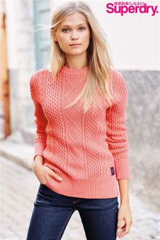 Superdry Cable Knit Jumper
