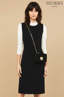 Hobbs Black Melody Dress