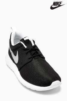 Black/Silver Nike Roshe One