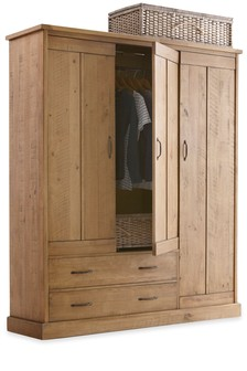 Hoxton Triple Wardrobe