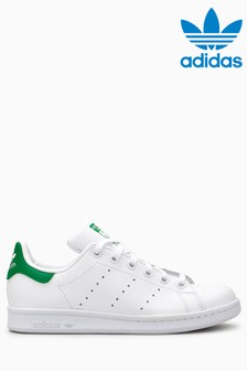 adidas Originals White/Green Stan Smith