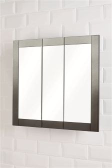 buy bathroom cabinets mirrors black from the next uk online shop