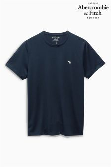 Abercrombie & Fitch Plain Crew Neck T-Shirt