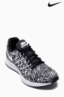 Black & White Nike Air Zoom Pegasus