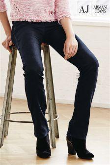 Denim Dk Wash Armani Jeans Baby Boot Cut Jean