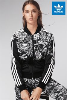adidas Originals Black Florido Track Top