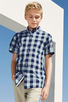 Buffalo Check Shirt (3-16yrs)