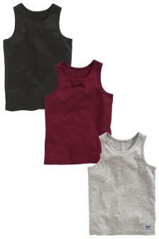 Vest Three Pack (1.5-16yrs)