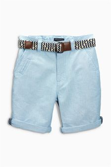 Belted Chino Shorts (3-16yrs)