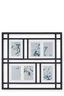Nihon 6 Aperture Collage Frame