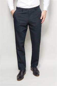 Linen Rich Suit: Trousers