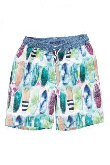 Surfboard Print Swim Shorts (3-16yrs)