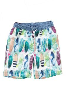 Multi Surfboard Print Swim Shorts (3-16yrs)