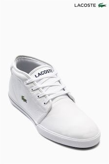 White Lacoste® Ampthill LCR
