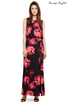 Phase Eight Black Ali Floral Maxi Dress