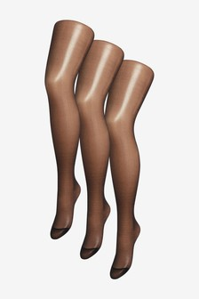Matt Tights Three Pack