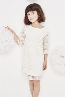 Ivory Lace Bridesmaid Dress (3-16yrs)