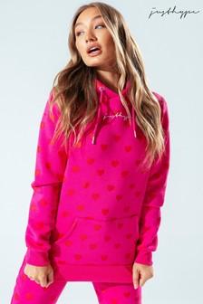 Pink/Grey Heart Print Pyjama