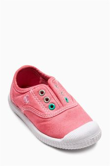 Laceless Low Tops (Younger Girls)