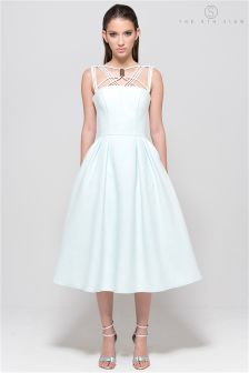 The 8th Sign Mint Cosmos Dress