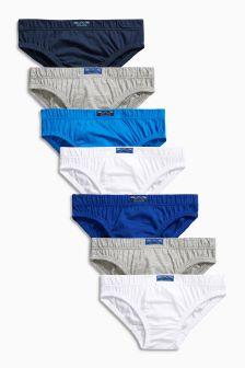 Blue Briefs Seven Pack (1.5-16yrs)