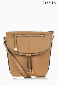 Oasis Tan Bailiee Bucket Bag